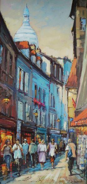 Rue de Montmartre -640€