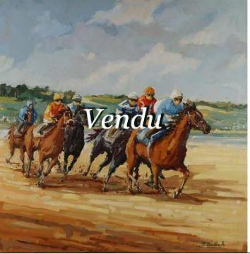 Course de chevaux- Vendu