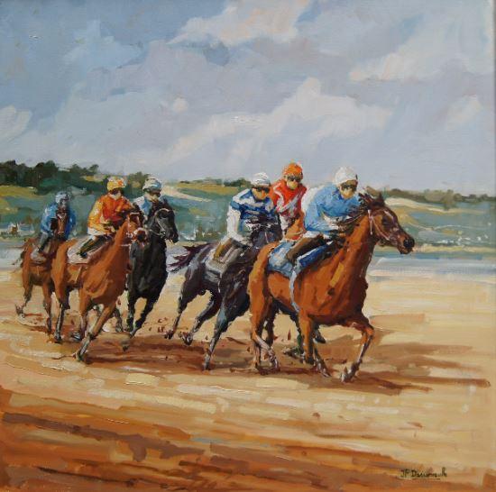 Course de chevaux- 1350€