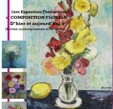 """Exposition """"La Composition Florale d'Hier et d'Aujourd'hui"""""""