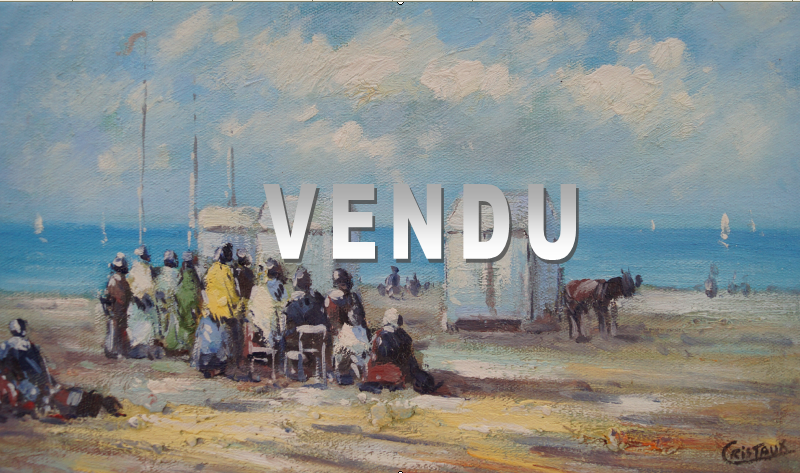 Francis CRISTAUX – VENDU