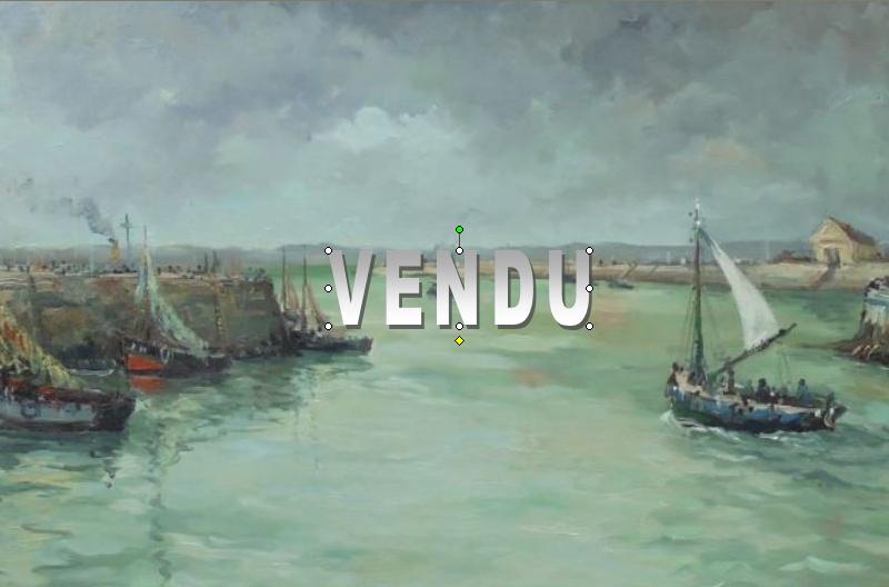 Robert LAVOINE (1916-1999) – Vendu