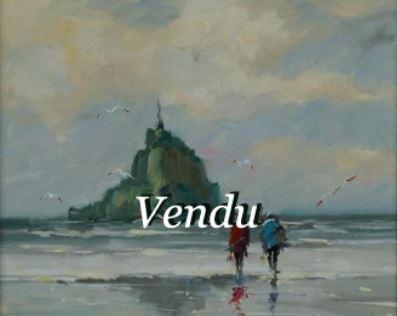 Mont Saint Michel- Vendu