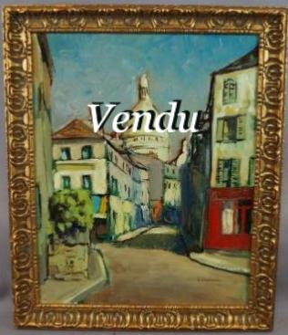 Maurice BLANCHARD- (Vendu)