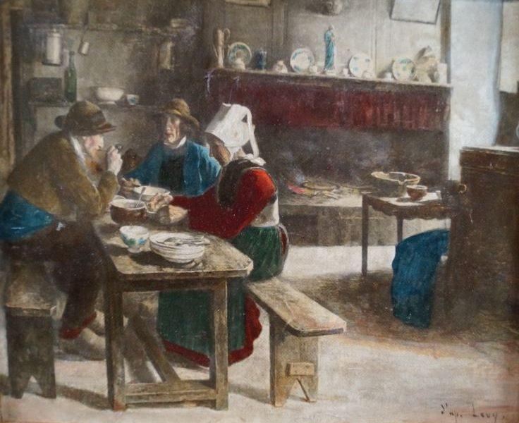 Benoit LEVY (1866-1952) – 230€