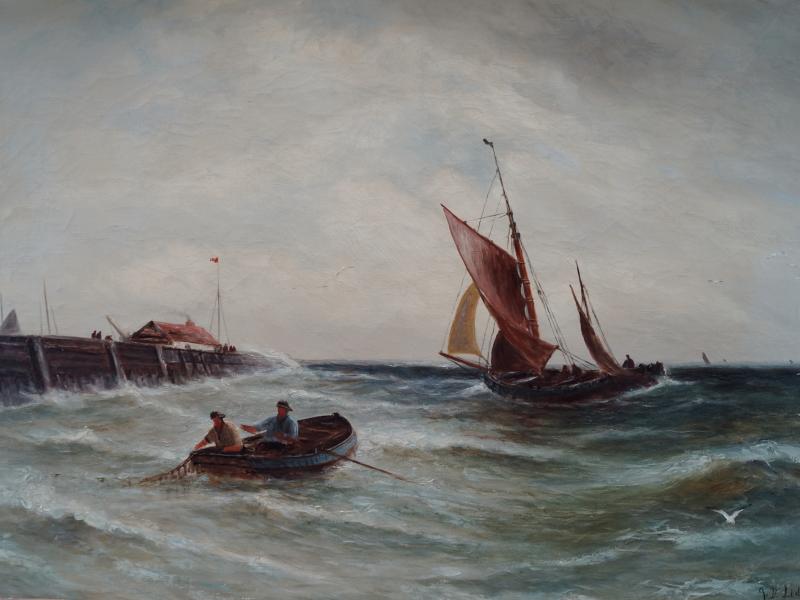 John Davison LIDDELL (1859-1942) – 1550€
