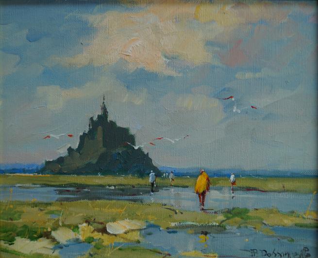 "Jean-Pierre DASSONNEVILLE ""Mont Saint Michel""- 250€"