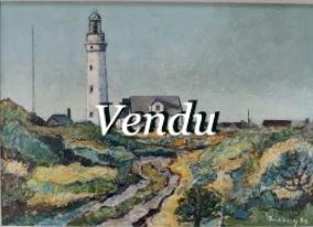 "Poul BERG "" Phare de Hirtshaes""- Vendu"