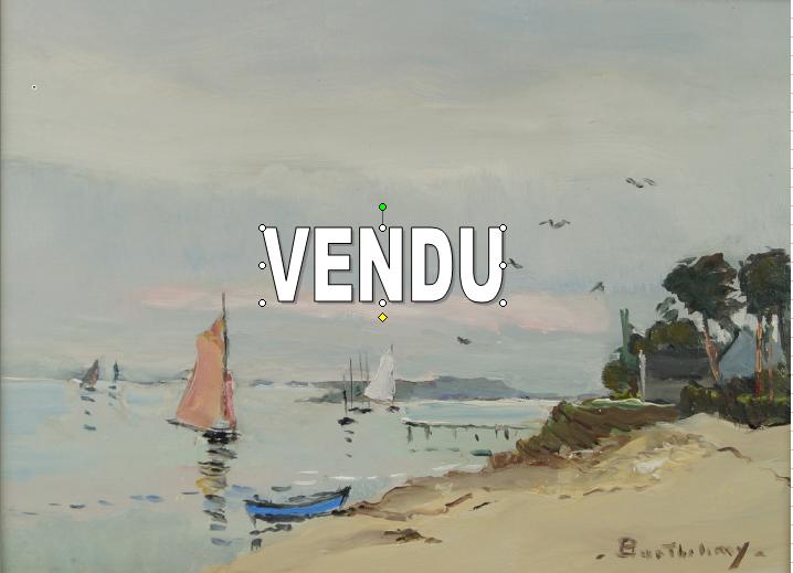 Gérard BARTHELEMY – Vendu