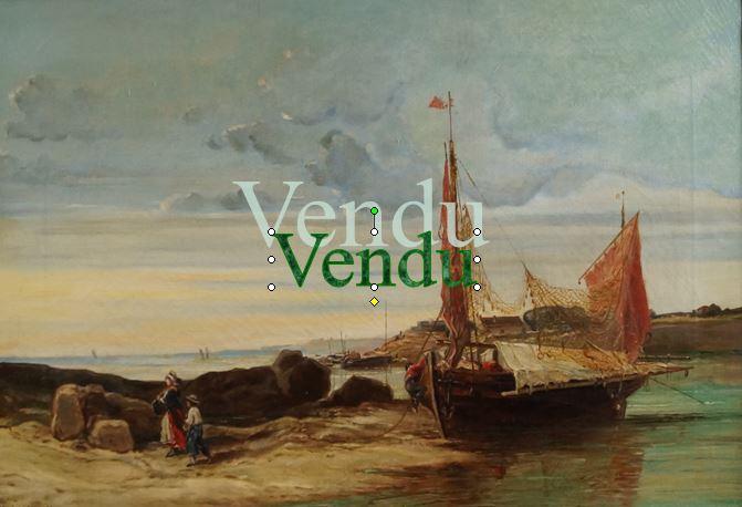 : Henri de CHENEVIERE  19ème- Vendu
