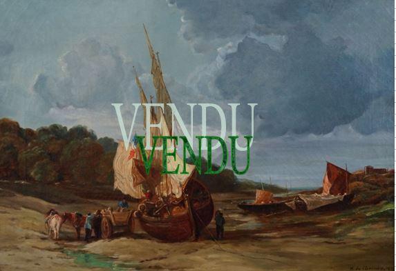 Henri de CHENEVIERE  19ème- vendu