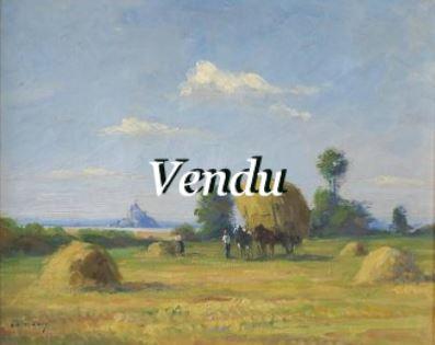 Olivier SERY  «Vue du Mont Saint Michel » -VENDU