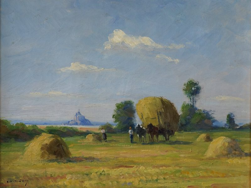 Olivier SERY  «Vue du Mont Saint Michel » -720€